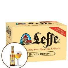 Leffe Blonde chai 330ml - Thùng 24 chai Nhật Bản