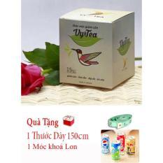 Giá Bán Tra Giảm Can Vy Tea Tặng Móc Khóa Lon Thước Day Mới Rẻ
