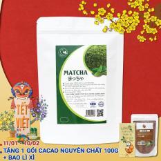 Giá Bán Tra Matcha Nhật Nguyen Chất Nhập Khẩu Greend Food 250G Rẻ Nhất