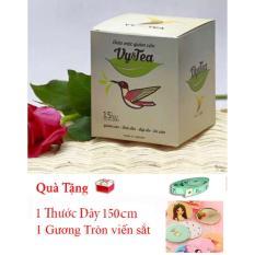 Tra Thảo Mộc Giảm Can Vy Tea Tặng Gương Tròn Thước Day 150Cm Mới Nhất