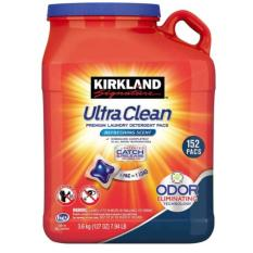 Vien Giặt Quần Ao Khang Khuẩn Kirkland Signature Ultra Clean 152 Pacs Kirdland Signature Chiết Khấu 50