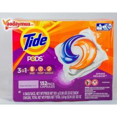 Chiết Khấu Vien Giặt Xả 3 Trong 1 Tide Pods Bịch 38 Vien