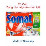 Mua Vien Rửa Somat Hộp 28V Nk Đức Cho May Rửa Chen Bat Rẻ