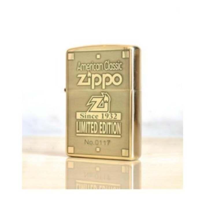 Zippo 1932 giới hạn 1000 con đồng thau chính hãng USA bảo hành 12 tháng