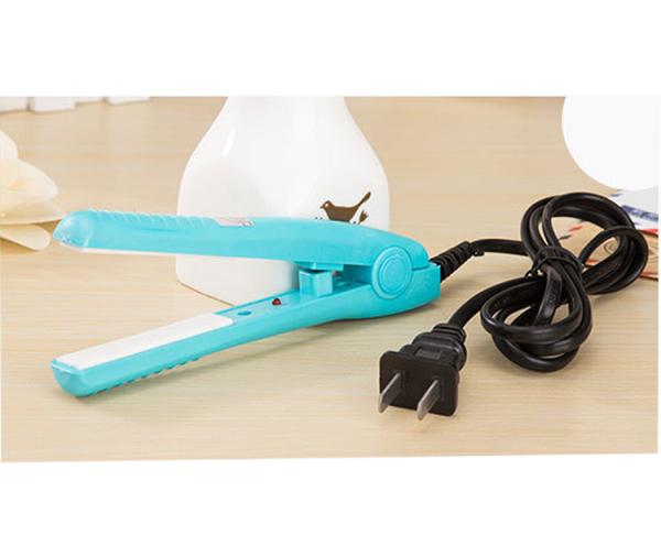 Máy kẹp tóc MINI siêu tiện lợi, Máy uốn tóc, Làm nóng nhanh an toàn cho tóc