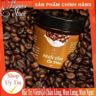 [ XÃ KHO ] Muối tắm Tẩy Tế Bào Chết Toàn Thân, giảm Mụn Lưng, Viêm Nang Lông, sáng da, mờ nám- Muối tắm cafe Minigarden [ Hanna Store DaNang ] thumbnail