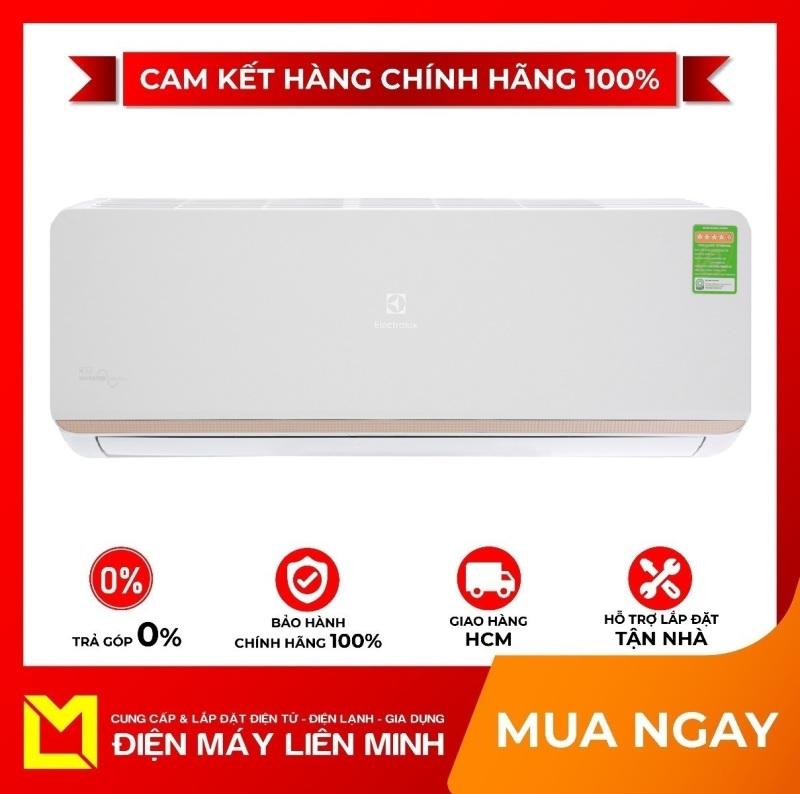 Bảng giá Máy lạnh Electrolux Inverter 1 HP ESV09CRR-C6 Mới 2020 - Chức năng tự chẩn đoán lỗi, Có tự điều chỉnh nhiệt độ (chế độ ngủ đêm), Thổi gió dễ chịu (cho trẻ em, người già), Hẹn giờ bật tắt máy, Làm lạnh nhanh tức thì