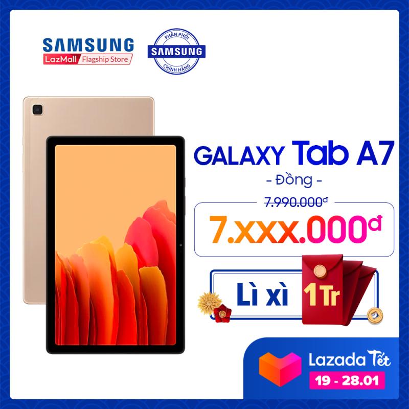 Máy tính bảng Samsung Galaxy Tab A7 (2020) - Hàng chính hãng - Miễn phí vận chuyển - Trả góp 0% chính hãng