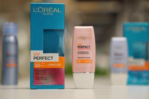 Kem chống nắng dưỡng da trắng sáng tức thì LOréal UV Perfect Instant White SPF50 PA ++++ 30ml