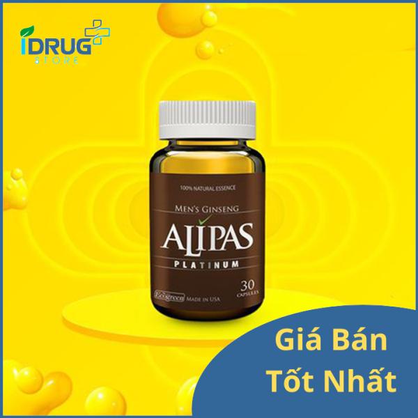 Sâm Alipas Platinum - Bổ Thận Cho Nam Giới nhập khẩu