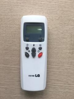Điều khiển điều hoà LG 1 chiều nút đỏ - LG1 chiều