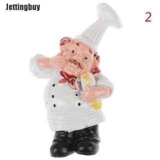 Jettingbuy Nhà Bếp Nhựa 3d Đầu Bếp Nấu Bánh Mì Tủ Lạnh Nam Châm Tủ Lạnh Trang Trí
