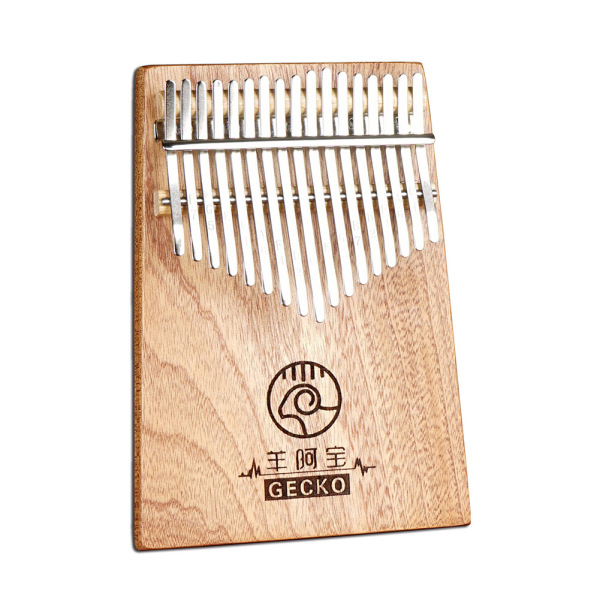 17 Keys Kalimba GECKO Thumb Piano Mahogany Wooden in C Music Instrument Toy Gift Malaysia