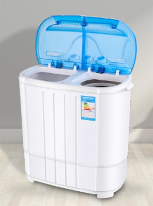 Máy giặt mini 2 lồng giặt kiêm chế độ vắt nhanh cho bé - 7