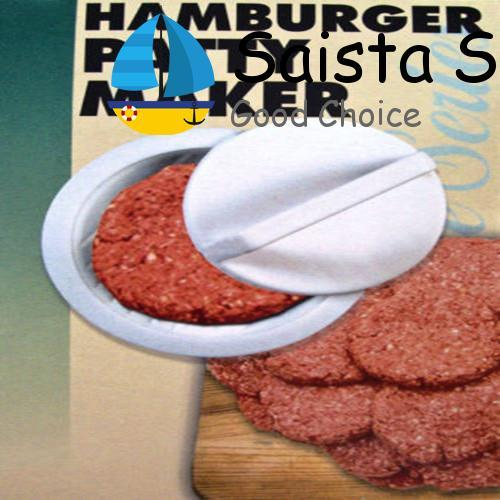 Plastic Stuffed Burger Press Hamburger Meat Grill BBQ Maker Mould DIY - intl