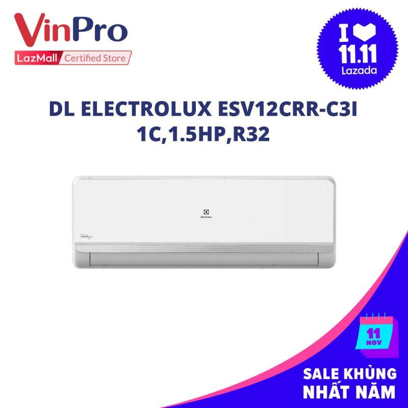 Bảng giá Máy lạnh Electrolux ESV12CRR-C3I, 1C,1.5HP,R32