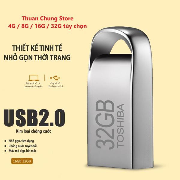 Bảng giá USB Toshiba 4GB 8GB 16GB 32GB mini vỏ nhôm chống nước nhỏ gọn Bảo hành 10 năm 1 đổi 1 Phong Vũ
