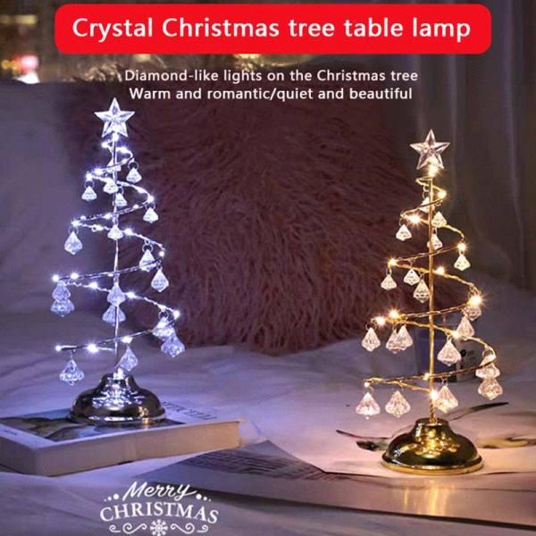 Bảng giá (Bán nóng) Đèn Cây Giáng Sinh Pha Lê Mặt Dây Chuyền Kim Cương Đèn Ngủ Trang Trí Phòng Ngủ