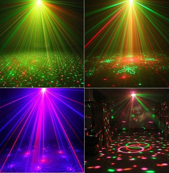 Đèn led sân khấu , quán bar,vũ trường , đèn xoay 7 màu cảm ứng âm thanh