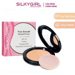 Phấn Phủ Mịn Da Silkygirl Pure Smooth SPF 20 10g thumbnail