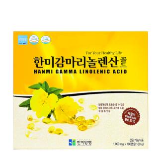 Tinh Dầu Hoa Anh Thảo Hàn Quốc Hami Gamma Linolenic Acid Hộp 180 Viên thumbnail
