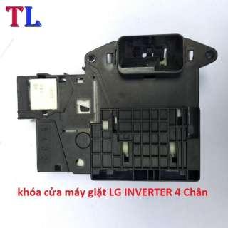 công tắc cửa máy giặt LG INVERTER 4 Chân | khóa cửa máy giặt LG