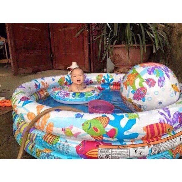 Bể Bơi INTEX 3 Chi Tiết (kèm bơm điện)