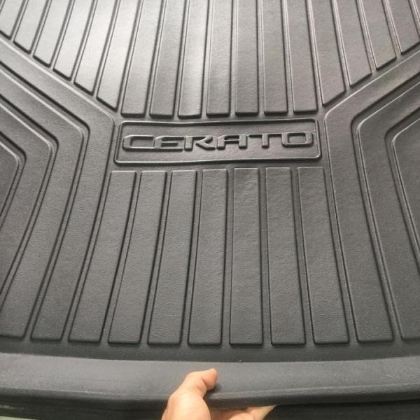 Lót cốp nhựa dẻo theo xe KIA CERATO 2019, 2020, 2021 chuyên dùng dành cho các dòng xe ô tô và xe hơi CERATO