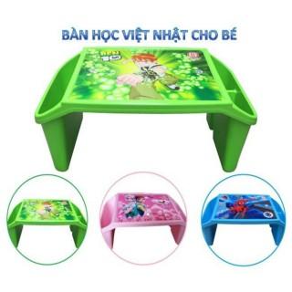 Bàn Học Nhựa Việt Nhật Cho Bé Có Ngăn Để Bút Viết Nhiều Màu Cho Bé Lựa Chọn thumbnail