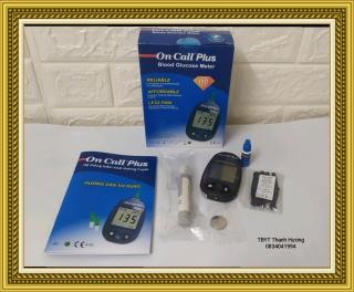 Máy đo đường huyết On call plus, tặng hộp 25 que thử thumbnail