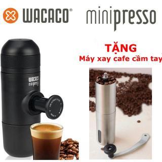 Máy Pha Cafe Cầm Tay Wacaco Minipresso GR thumbnail