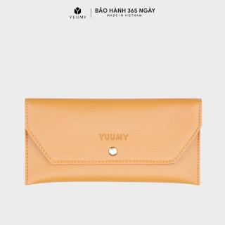 Ví nữ cầm tay thời trang YUUMY YV9 chất liệu da tổng hợp cao cấp mềm mại, kiểu dáng sang trọng thumbnail