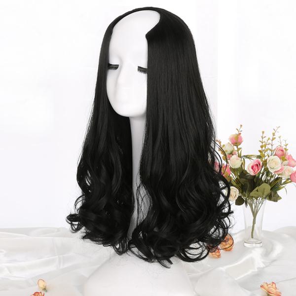 Tóc giả kẹp U xoăn dài, kẹp 3/4, tóc kẹp U Ku-9131 dài 50cm [tặng kèm quà 25k] giá rẻ