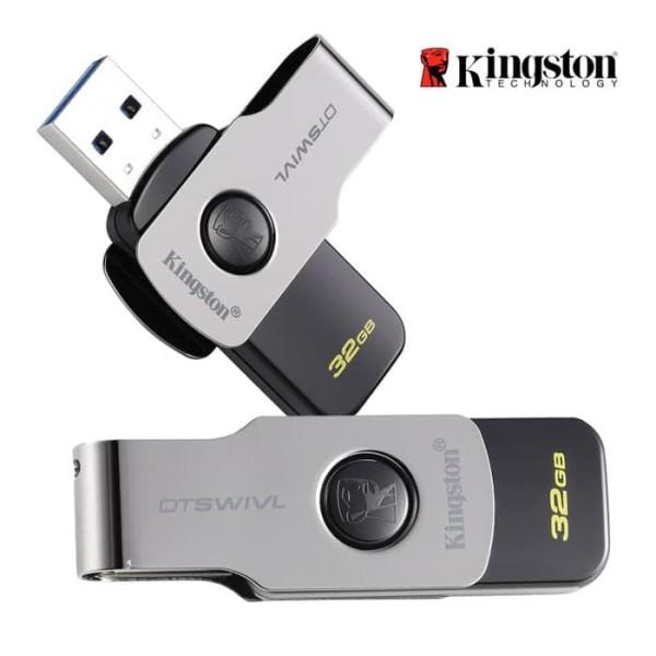 Bảng giá USB Kingston 32GB USB3.0 DTSWIVL(DTSWIVL/32GB) - Hàng Chính Hãng Phong Vũ
