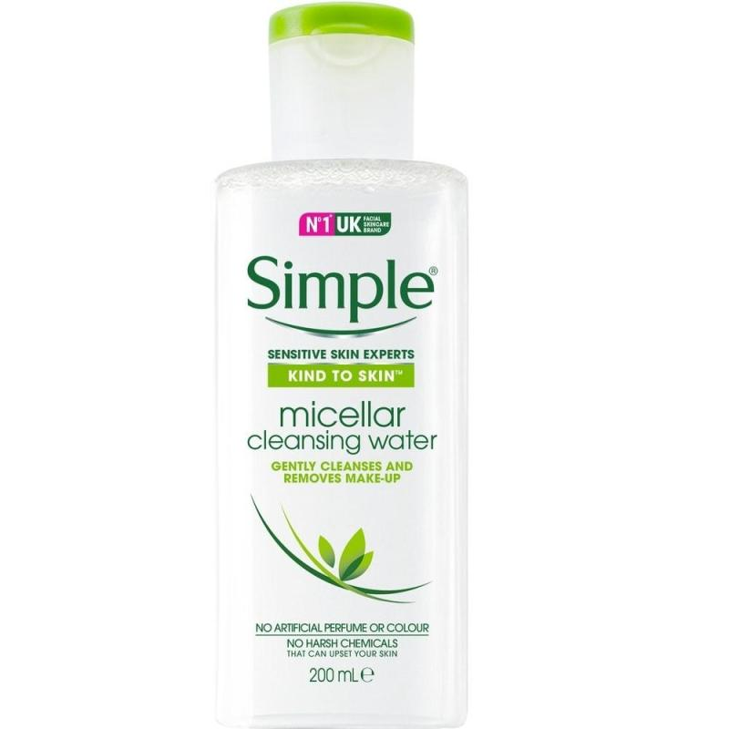 Nước Tẩy Trang Simple Kind To Kind Micellar Cleansing Water 200ml cao cấp