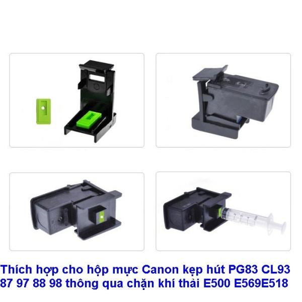 Bảng giá Thích hợp cho hộp mực Canon kẹp hút PG83 CL93 87 97 88 98 thông qua chặn khí thải E500 E569E518 Phong Vũ