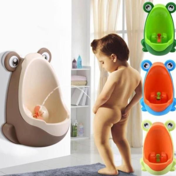 Bô ếch tiểu đứng đái gắn tường cho bé, Bô cho bé đi vệ sinh, bô hình thú em bé, dụng cụ vệ sinh Dành Cho Bé Trai, Bô Tiểu Gắn Tường, Bồn Tiểu Gắn Tường - Guty Home