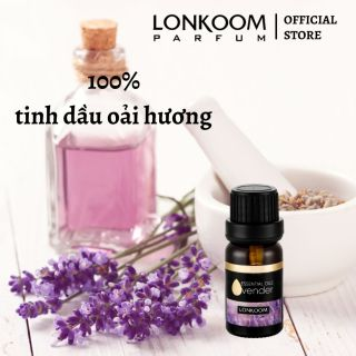 LONKOOM PARFUM Tinh dầu thiên nhiên 10ml Ngủ Hoa oải hương Liệu pháp hương thơm thumbnail