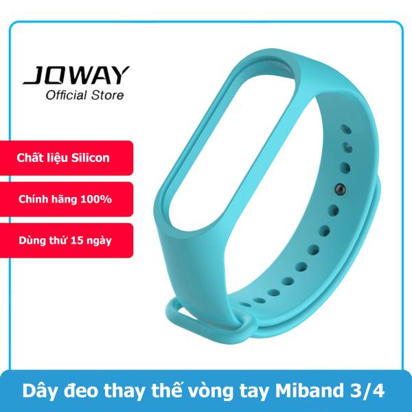 Giá Dây đeo thay thế vòng đeo tay Xiaomi Mi Band 3, Xiaomi Mi Band 4 Chất liệu Silicone (Đen)