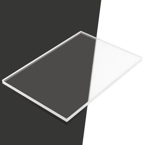 Mua Tấm nhựa mica acrylic cứng trong suốt dày 5mm (rộng 50cm x dài 100cm) làm bảng quảng cáo, chế đồ chơi sáng tạo, hồ/bể cá, đồ thủ công mỹ nghệ, có nhận cắt lại theo kích cỡ yêu cầu (VA168 TP, ĐN) - Luân Air Models