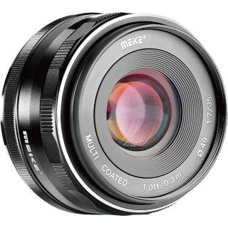 (CÓ SẴN) Ống Kính Meike 35mm F1.7 - Dùng Sony E, Fujifilm, Canon EOS-M và Panasonic Olympus M43 thumbnail
