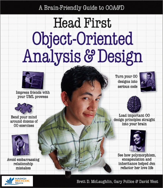 Head First Object-Oriented Analysis and Design - Hanoi bookstore