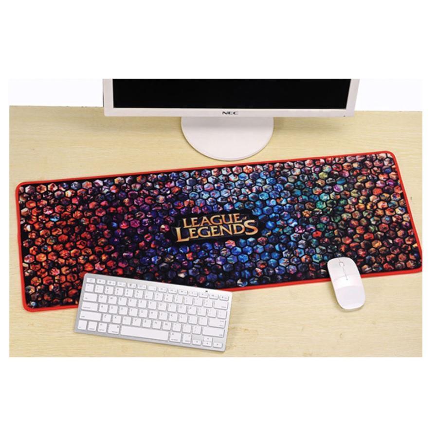 Giá Lót Chuột kiêm Bàn phím hình siêu dễ thương Size Lớn 30 x 80 cm ngẫu nhiên hình (Mẫu 4)