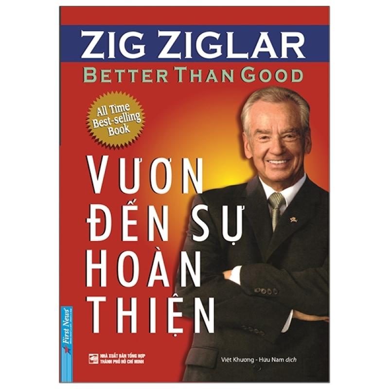 Fahasa - Vươn Đến Sự Hoàn Thiện - Better Than Good (Tái Bản 2020)