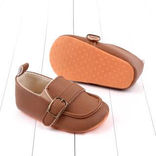 Giày Tập Đi Cho Bé Cherful655 1 Đôi Giày Lười Đế Mềm Bằng Da PU Thời Trang Dễ Thương Cho Bé Trai Bé Gái Trẻ Sơ Sinh 2020