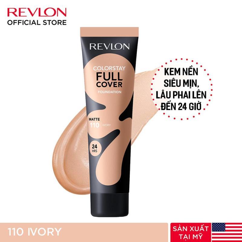 Kem nền lâu phai siêu lì toàn diện Revlon ColorStay Full Cover 24h 30ml