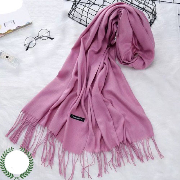 Khăn quàng cổ Cashmere, khăn nữ thời trang, khăn giữ ấm, khăn choàng cho nữ phong cách Hà Quốc