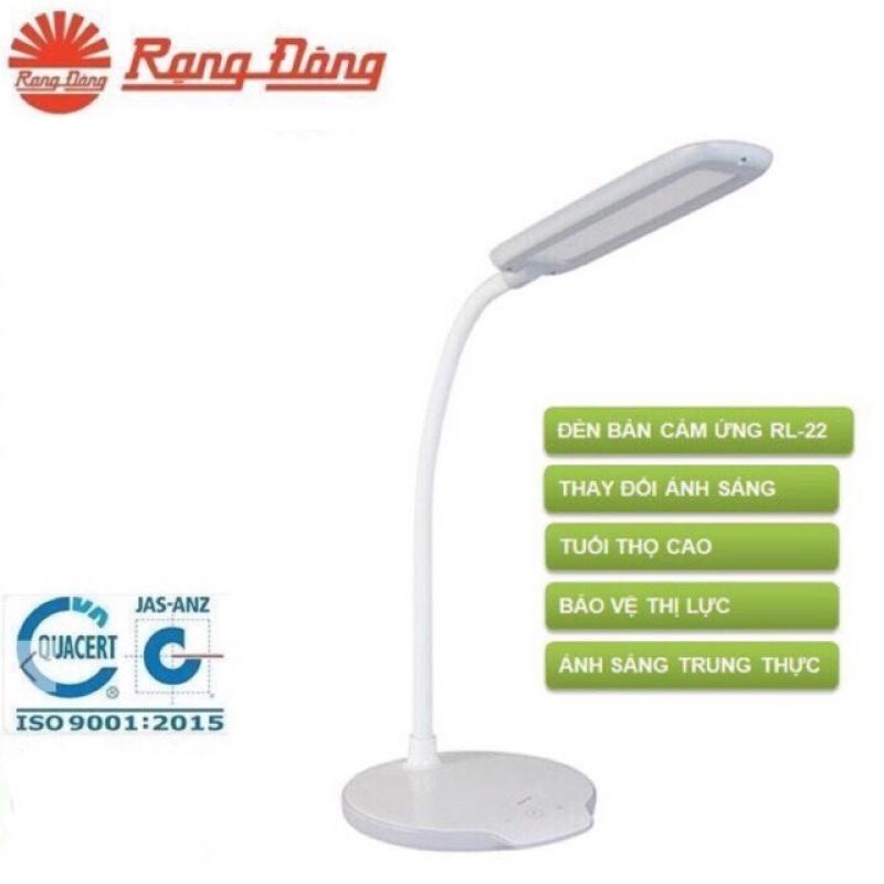 Đèn bàn led cảm ứng Rạng Đông 6W 22.LED touch sensitive