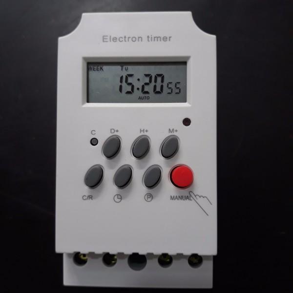 Bộ 2 công tắc hẹn giờ KG316T-II tắt mở tự động chuẩn công nghiệp 25A - 2KG316T-II