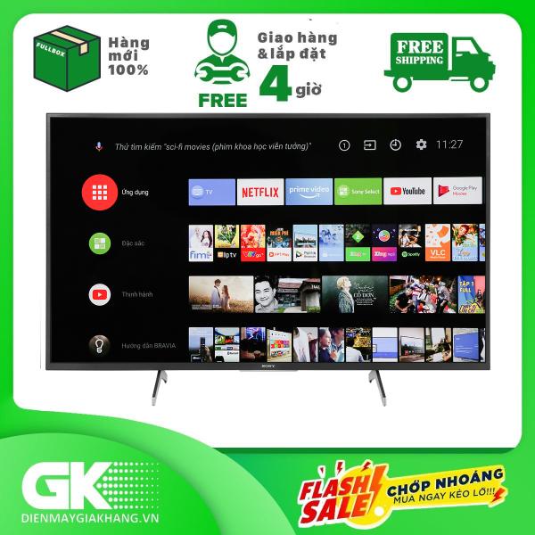 Bảng giá [Trả góp 0%]Android Tivi Sony 4K 49 inch KD-49X8000H